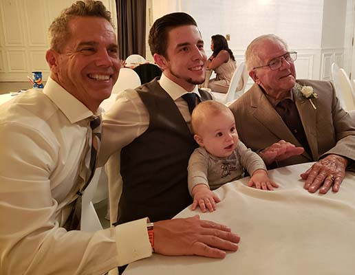 Chiropractor Oak Creek WI Daniel Hyatt at Wedding